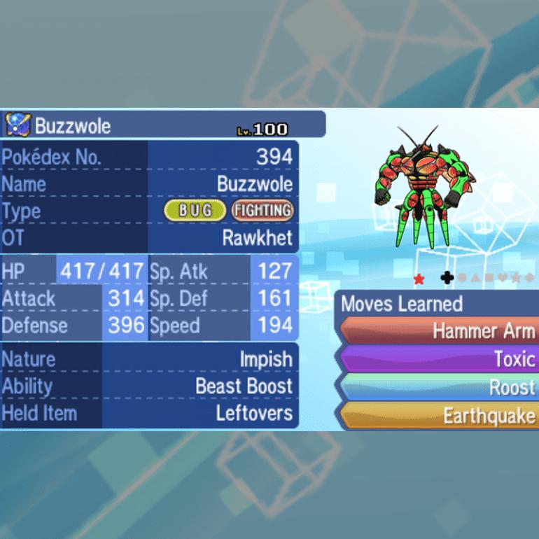 Ultra Beasts - Buzzwole