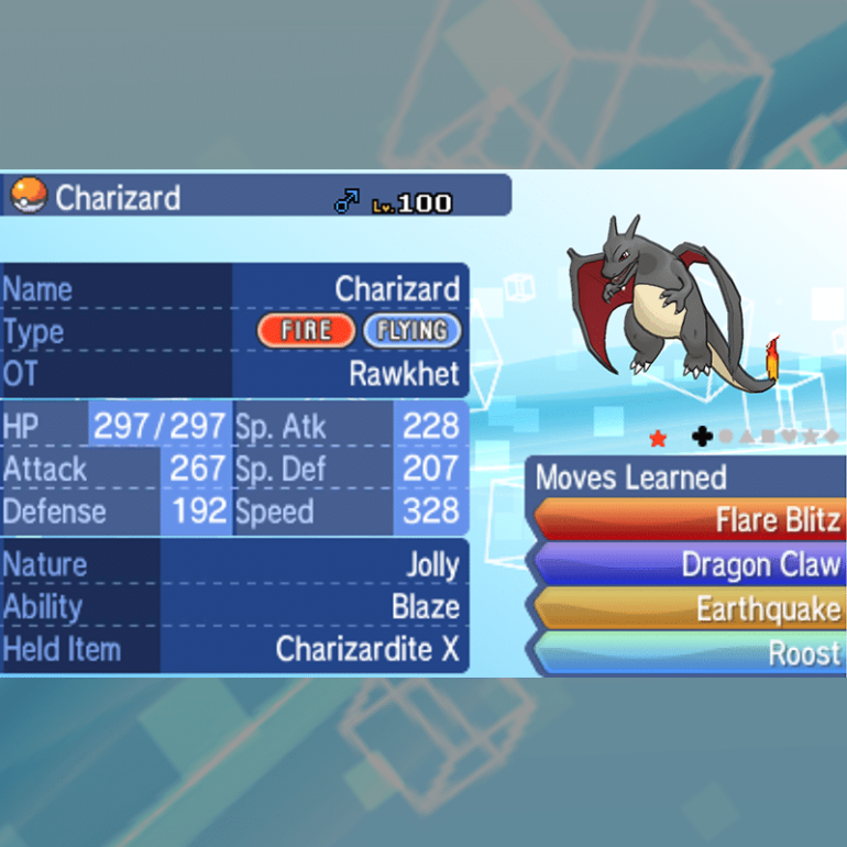Mega Evolution - Charizard X