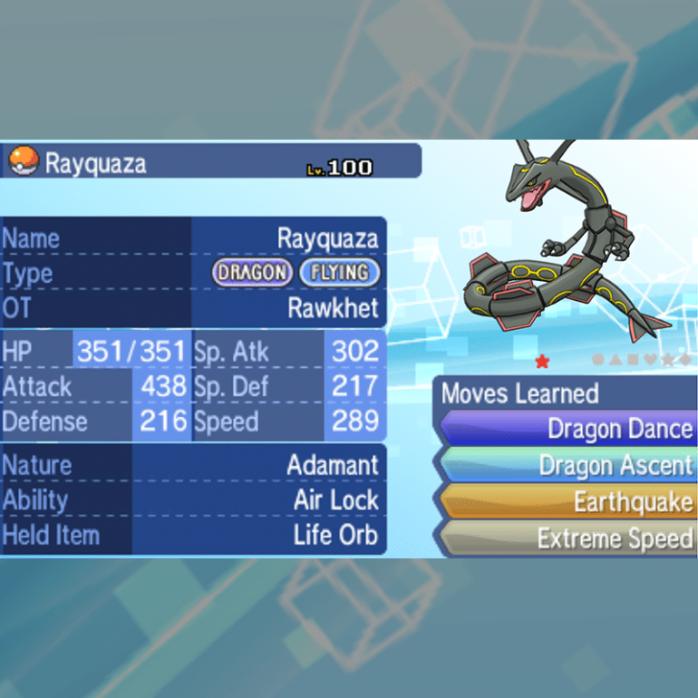 Mega Evolution - Rayquaza