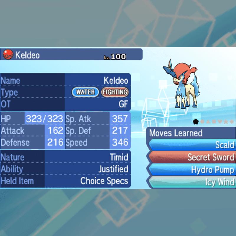 20th Anniversary - Keldeo