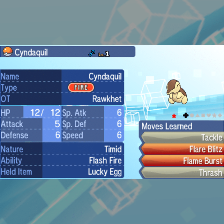 Starters Package - Cyndaquil
