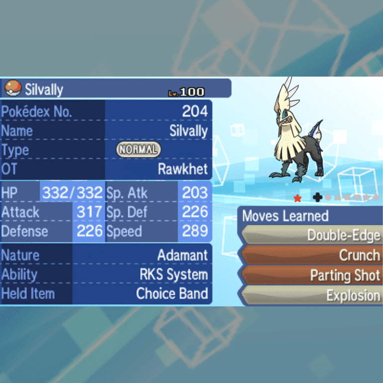 Alola Legends - Silvally