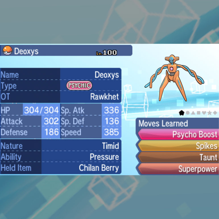 Deoxys - Normal