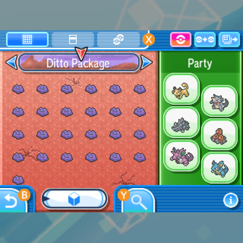 Buy Ditto Package With All Natures And Items Rawkhet Pokemon