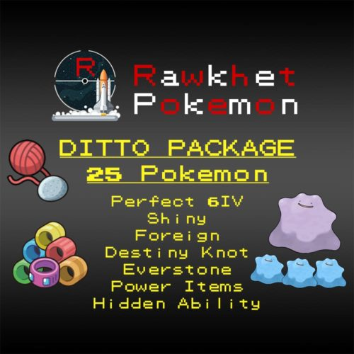 Ditto Package - Hero