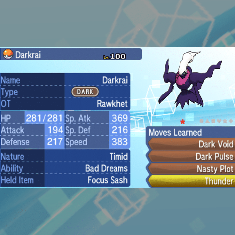 Legendary - Shiny Darkrai