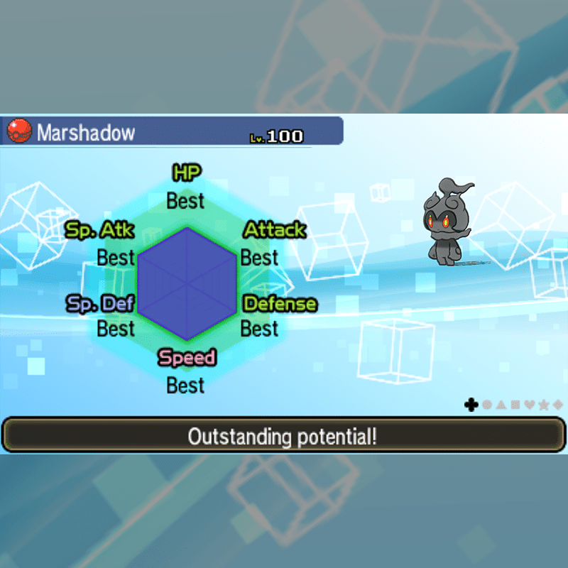 Marshadow - IVs