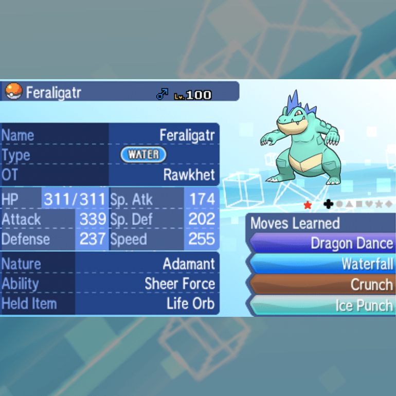 Evolved Starters - Feraligatr