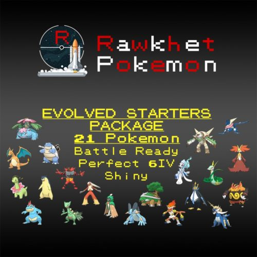 Evolved Starters - Hero