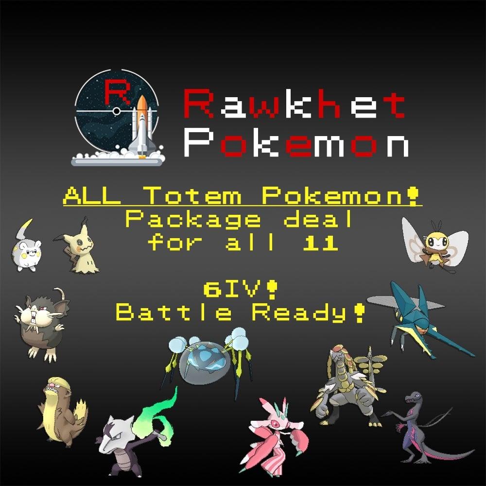 Shop For Your Perfect Dream Pokemon - Rawkhet Pokemon
