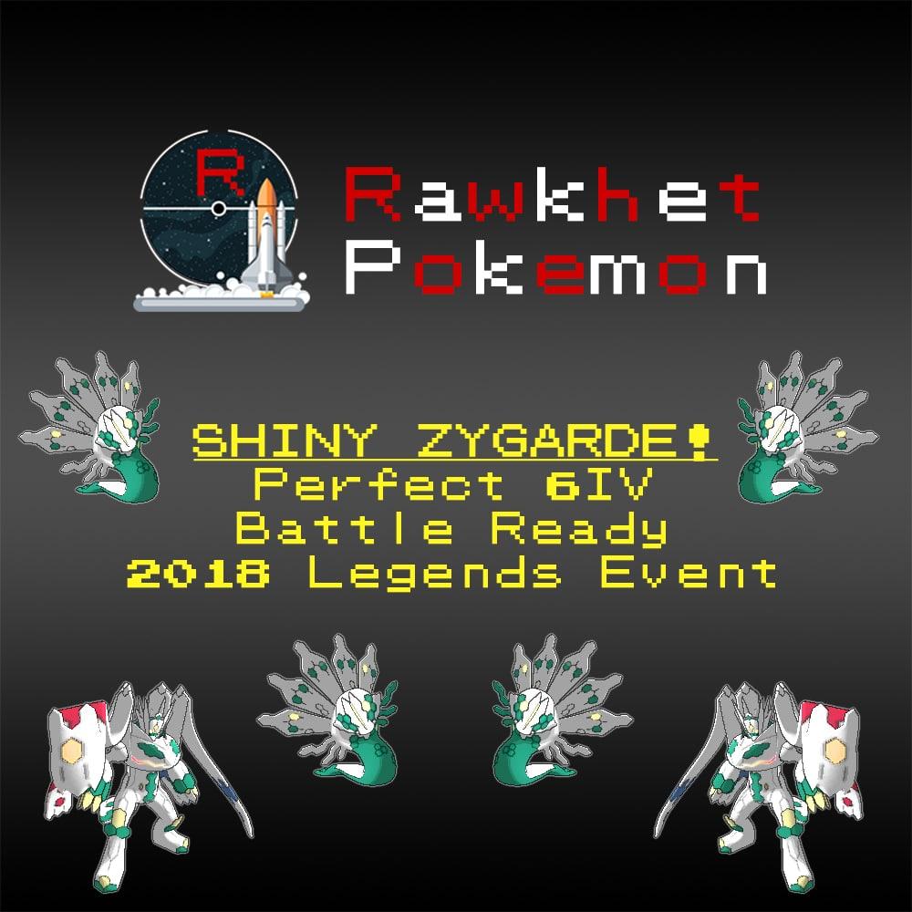 Buy Shiny Zygarde Event For Pokemon Sun And Moon