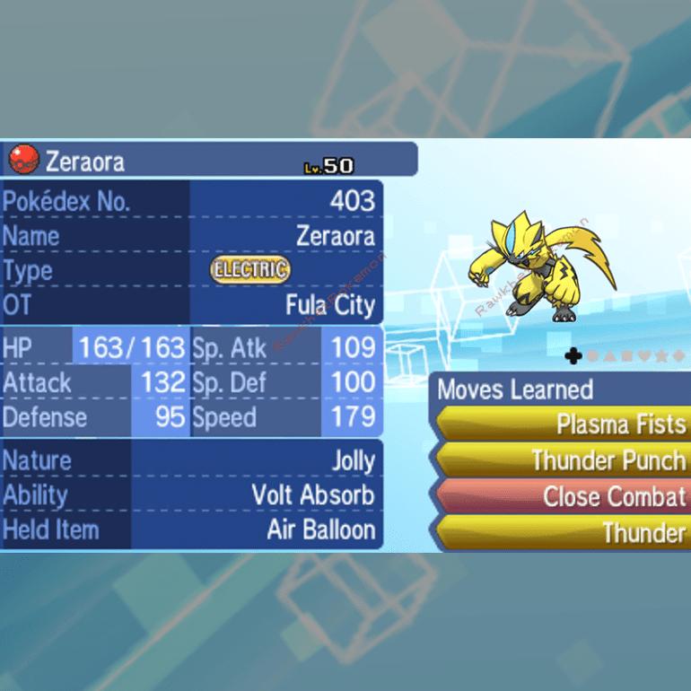 Zeraora - Untouched