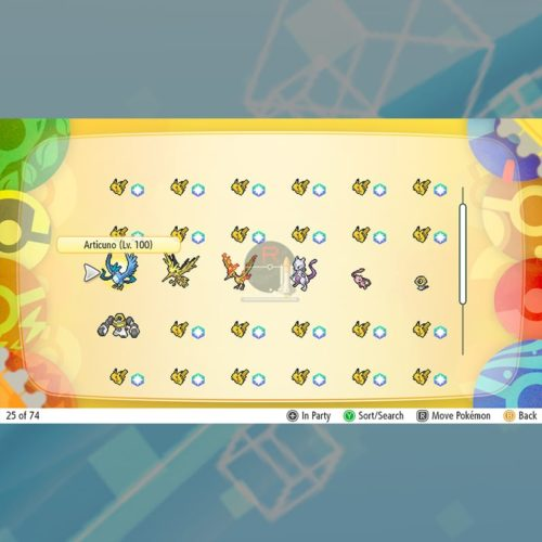 LGPE Legends - Box