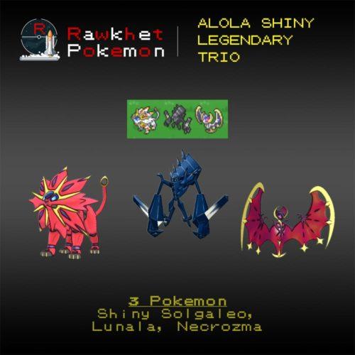 Alola Shiny Trio - Hero