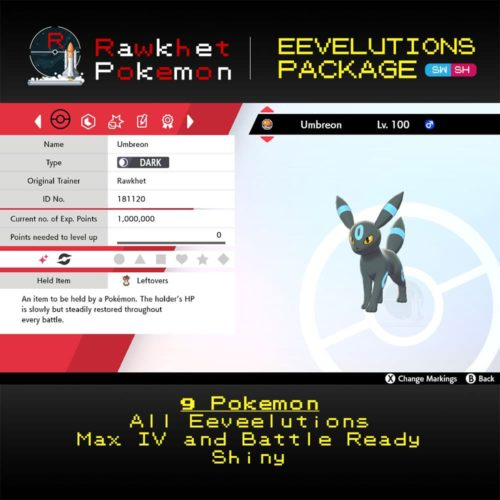 SWSH Eeveelutions - Umbreon
