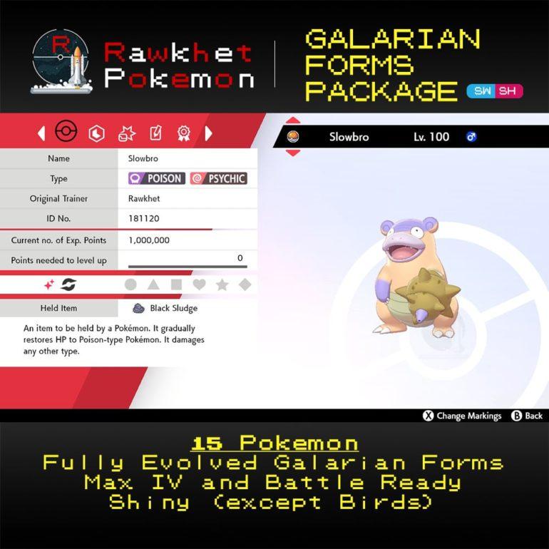 Galarian Forms - Slowbro Summary