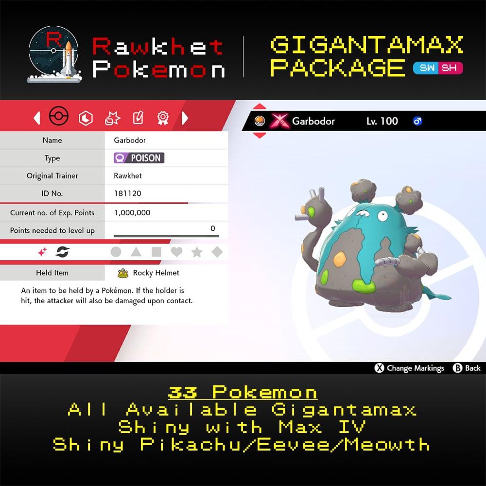 Gigantamax - Garbodor