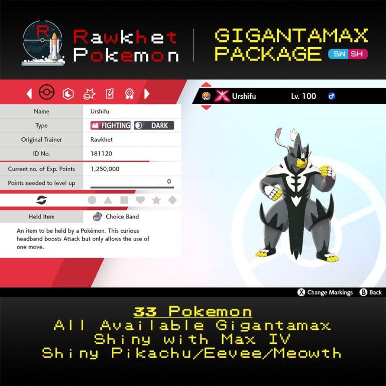 Gigantamax - Urshifu-Single-Strike