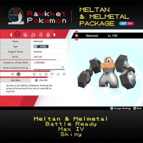 SWSH Meltan and Melmetal