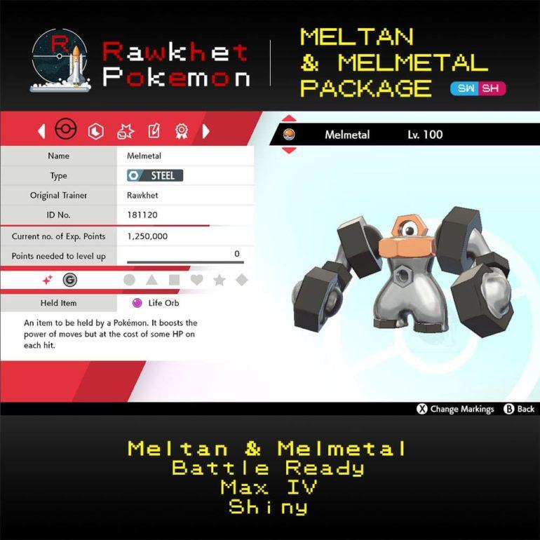 SWSH Meltan and Melmetal