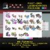 Past-Gen Legendaries Package (23x, 6IV, Shiny, Battle Ready) - Pokemon Sword and Shield