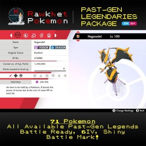 SWSH Past-Gen Legendaries - Naganadel