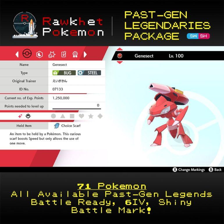 SWSH Past-Gen Legendaries - Genesect