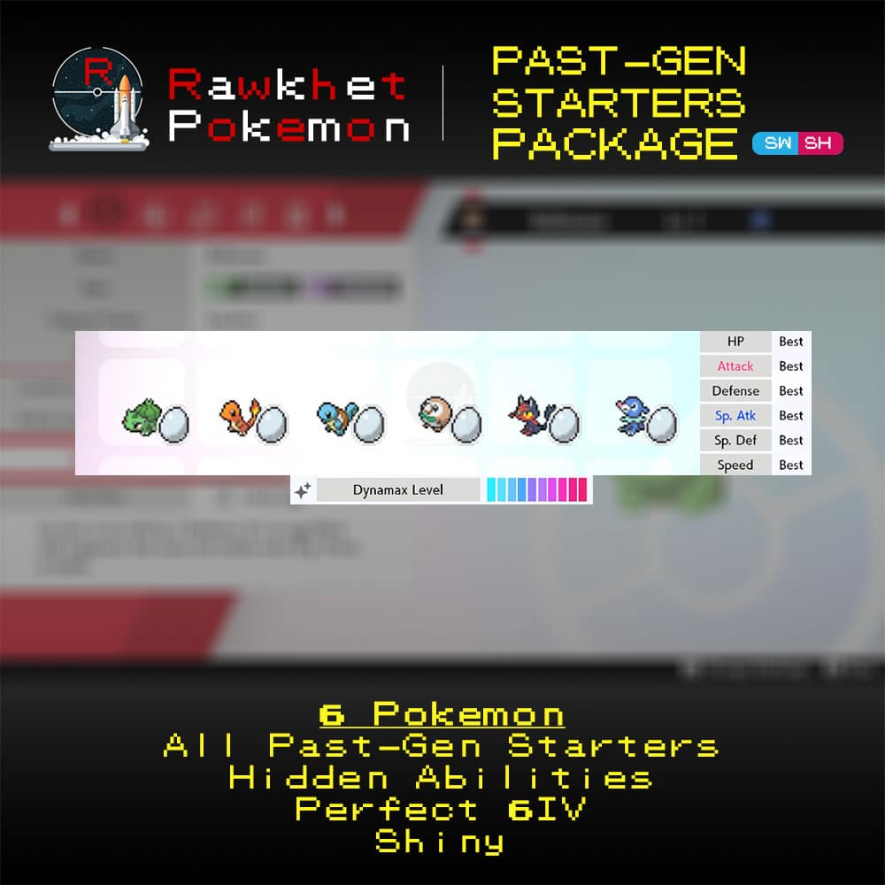 Past-Gen Starters - Hero