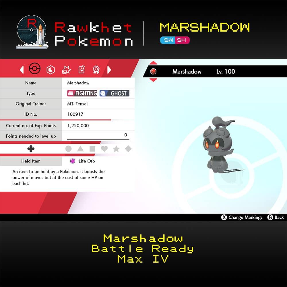 SWSH Marshadow - Hero