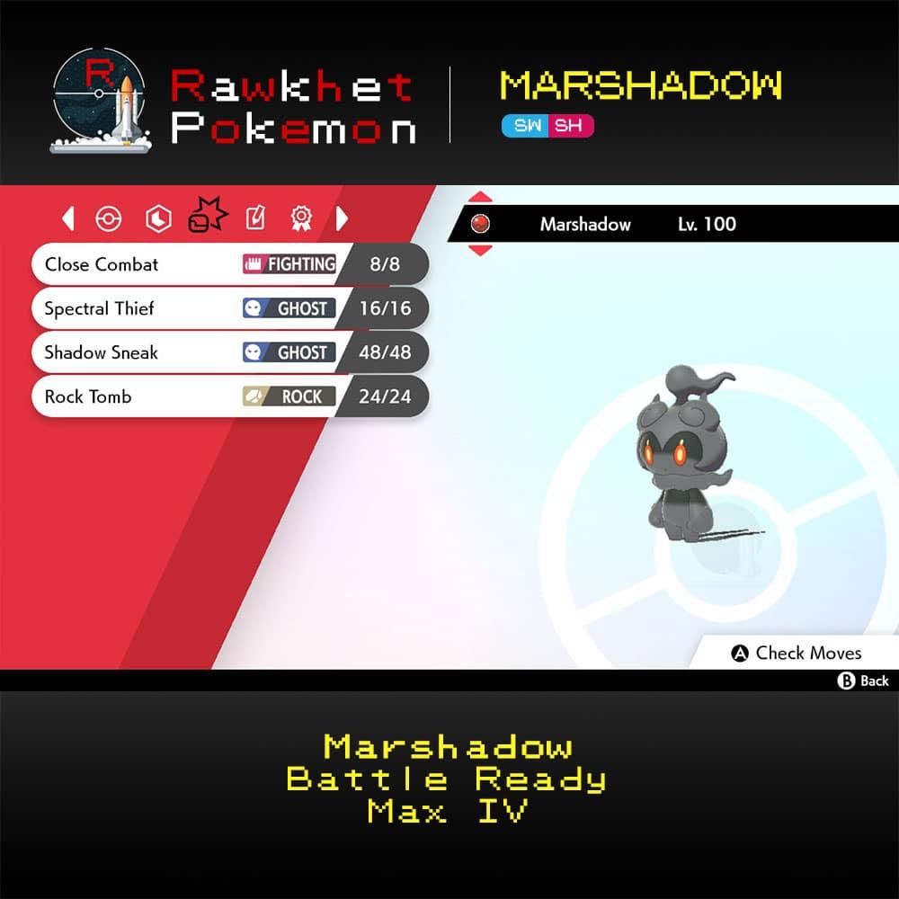 SWSH Marshadow - Moves