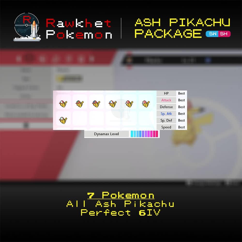 SWSH Ash Pikachu Package - Hero