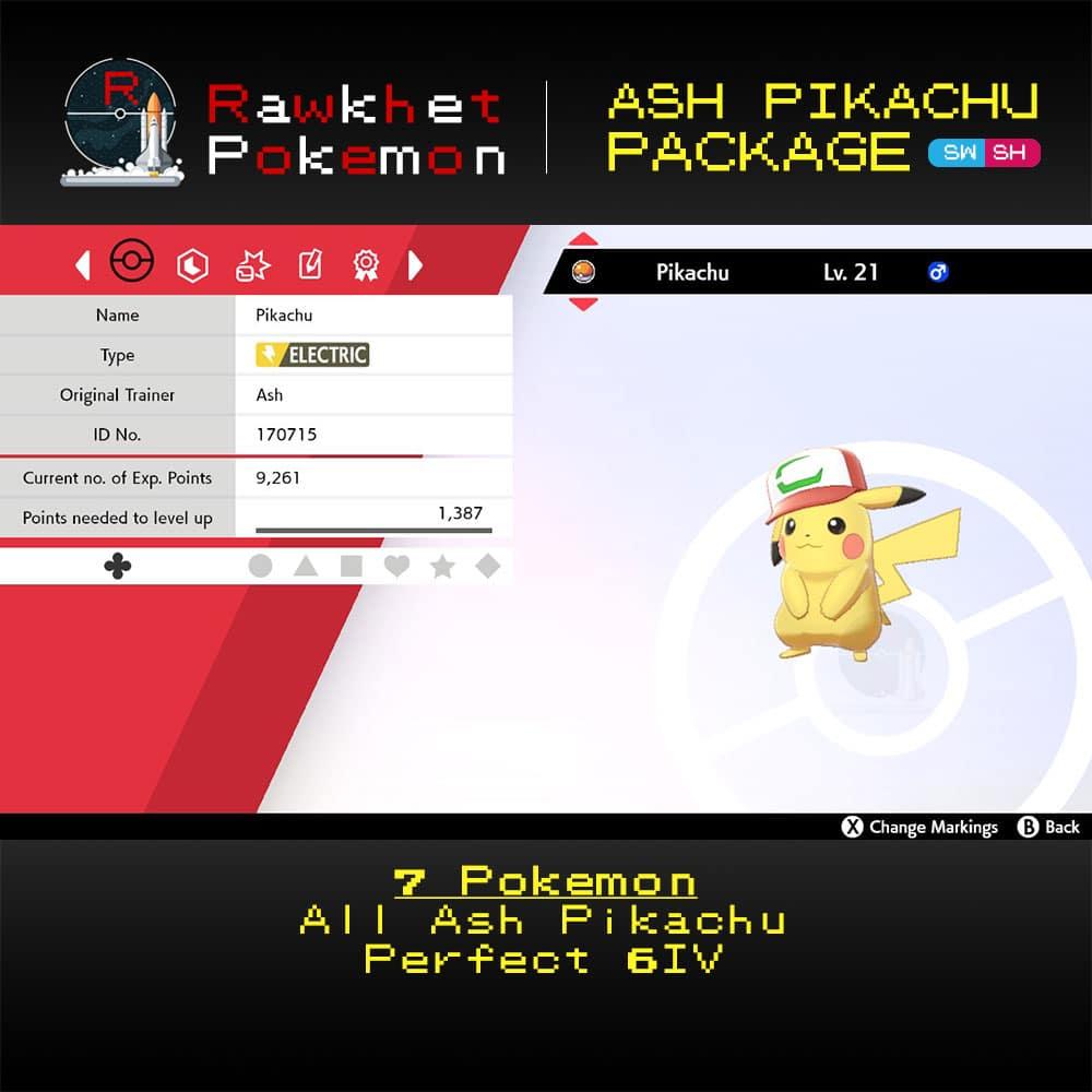 SWSH Ash Pikachu Package - Partner