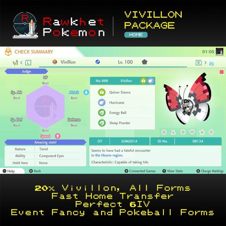 Vivillon - Pokeball
