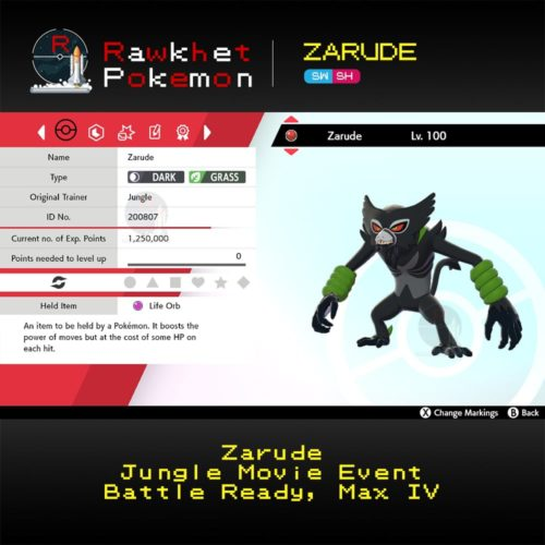 Zarude - Hero