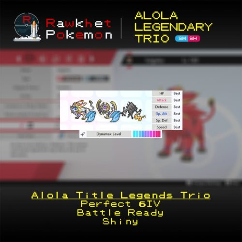 Alola Trio - Hero