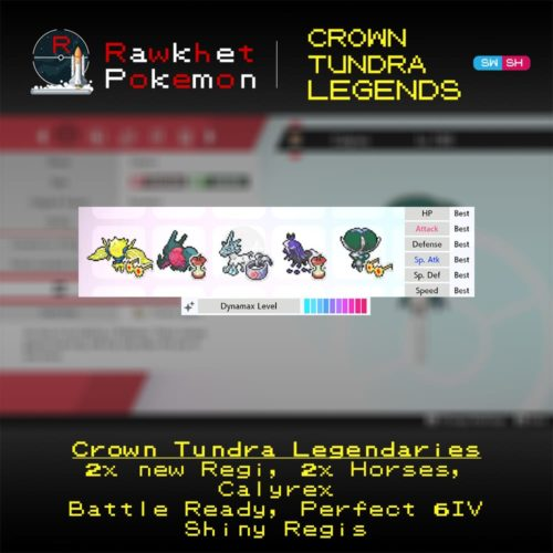 Crown Tundra Legends - Hero