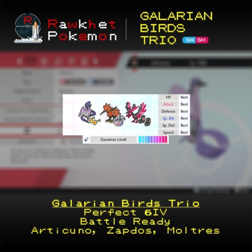 Galarian Birds - Hero