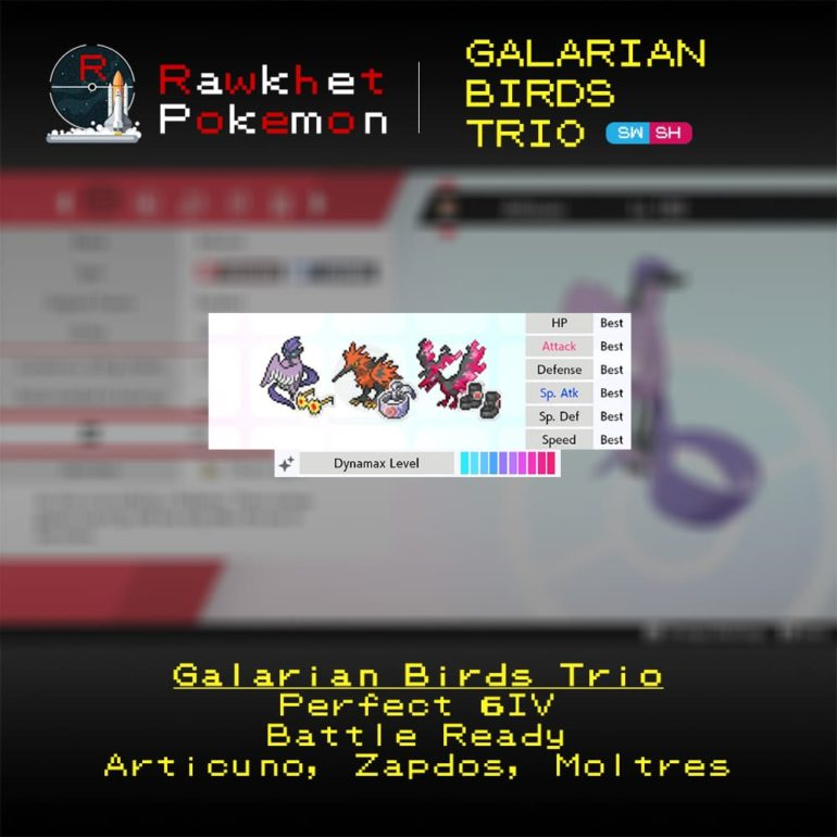 Galarian Birds - Hero