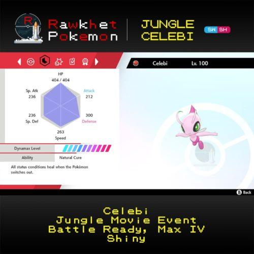Jungle Celebi - Stats