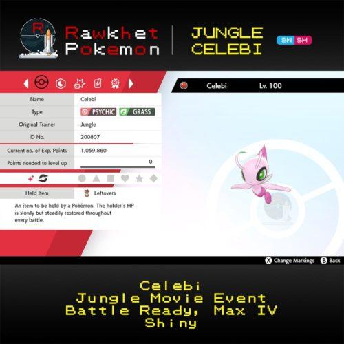 Jungle Celebi- Hero