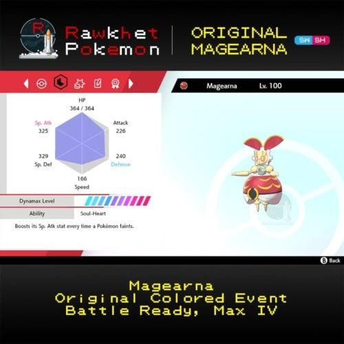 Original Magearna - Stats