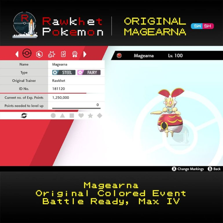 Original Magearna - Hero