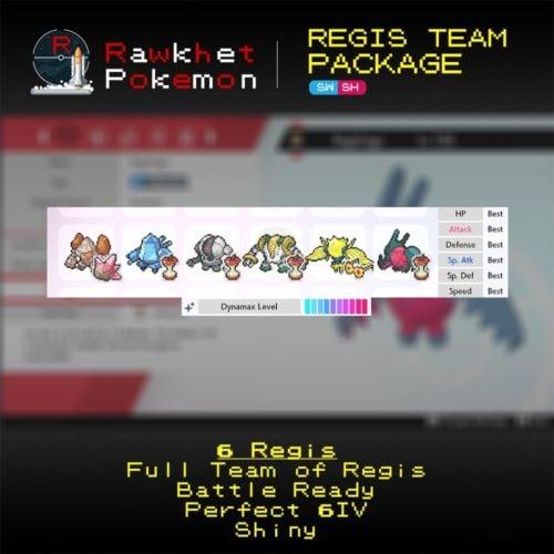 Regis Team Package - Hero