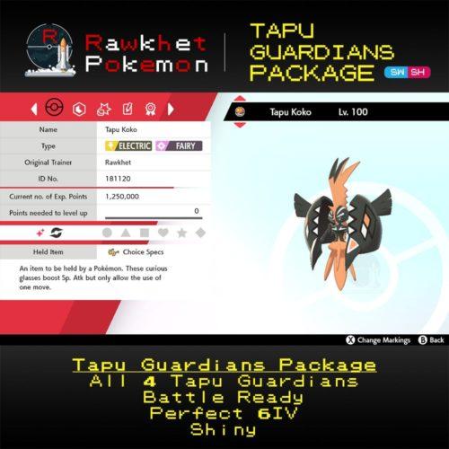 Tapu Guardians - Tapu Koko Summary