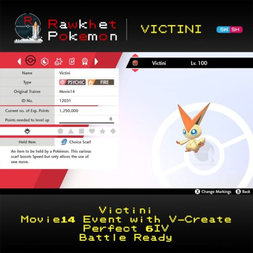 Victini - Summary
