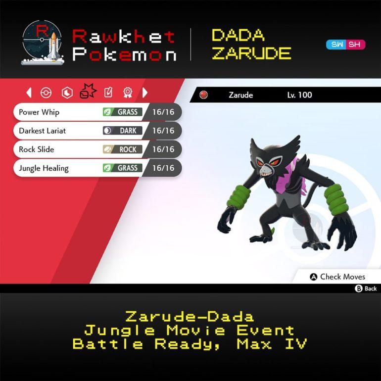 Dada Zarude - Moves