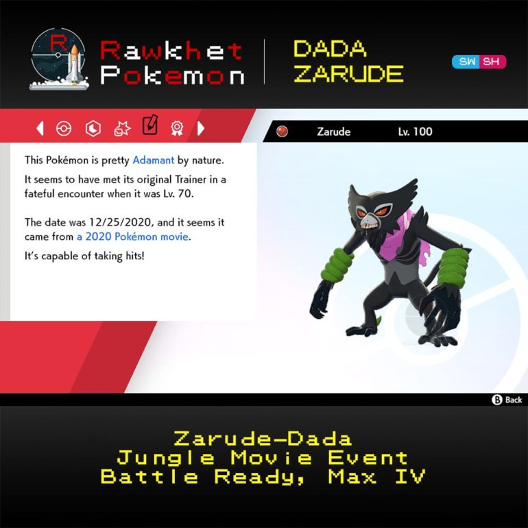 Dada Zarude - Details