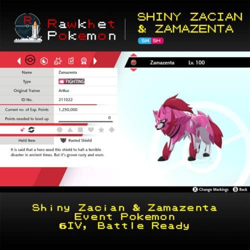 Zacian & Zamazenta - Zamazenta Summary
